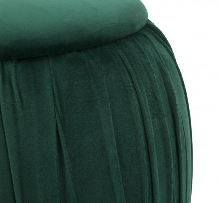 Puf cu spatiu depozitare PARIS, verde, 41X41 cm, Mauro Ferretti4