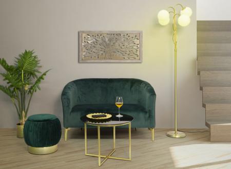 Puf cu spatiu depozitare PARIS, verde, 41X41 cm, Mauro Ferretti7