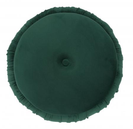 Puf cu spatiu depozitare PARIS, verde, 41X41 cm, Mauro Ferretti2