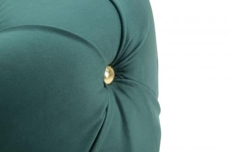 Puf DIAMOND, verde, 45X40 cm, Mauro Ferretti [4]