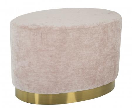 Puf GOLDY, roz,  60X40X40 cm, Mauro Ferretti [0]