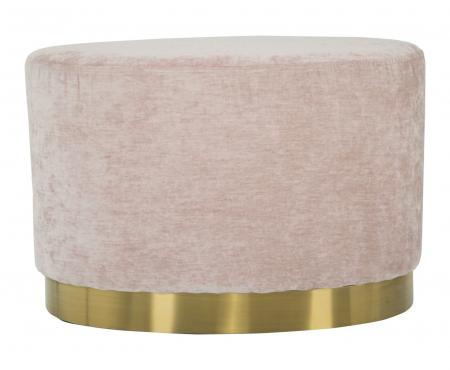 Puf GOLDY, roz,  60X40X40 cm, Mauro Ferretti [2]