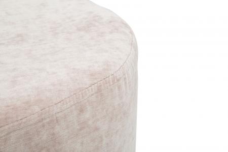 Puf GOLDY, roz,  60X40X40 cm, Mauro Ferretti [5]