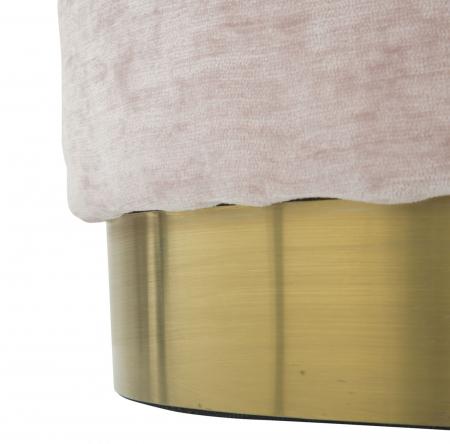 Puf GOLDY, roz,  60X40X40 cm, Mauro Ferretti [4]