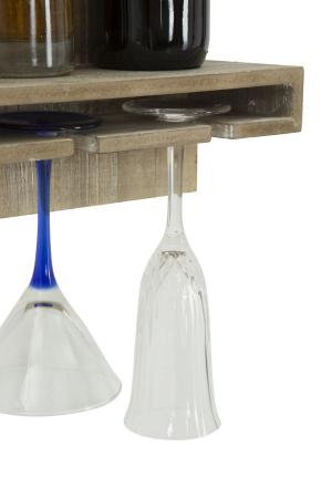 Raft pentru sticle si pahare, 34X12X76 cm, Mauro Ferretti4