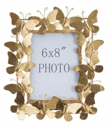 Rama foto BUTTERFLY GLAM CM 28X11,5X30,5 (dimensiune foto CM 15X20) , Mauro Ferretti [4]