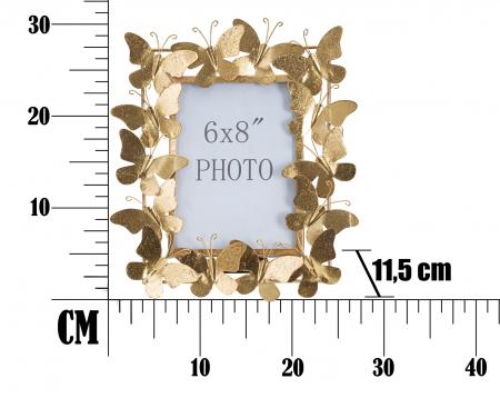 Rama foto BUTTERFLY GLAM CM 28X11,5X30,5 (dimensiune foto CM 15X20) , Mauro Ferretti [5]