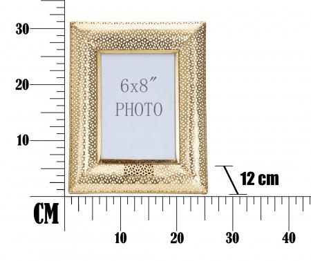 Rama foto GLAM HOLES CM 25X12X31 (dimensiune foto CM 15X20) , Mauro Ferretti [5]