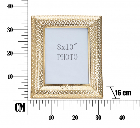 Rama foto GLAM HOLES CM 31X16X36 (dimensiune foto CM 20X25) , Mauro Ferretti [4]