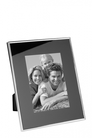 Rama foto SORA, placata cu argint, 25.7 x 20.6 x 1.9 cm, Fink [0]