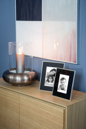 Rama foto SORA, placata cu argint, 25.7 x 20.6 x 1.9 cm, Fink [1]