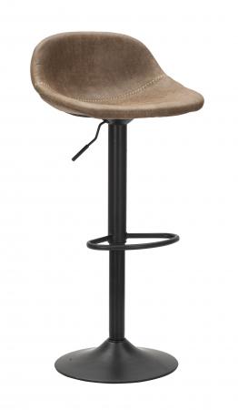 Scaun de bar ajustabil  BERLIN -C- CM 46X40X80-102 (inaltime sezut  CM 61-82), Mauro Ferretti [6]