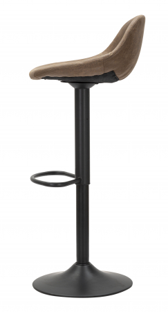 Scaun de bar ajustabil  BERLIN -C- CM 46X40X80-102 (inaltime sezut  CM 61-82), Mauro Ferretti [5]