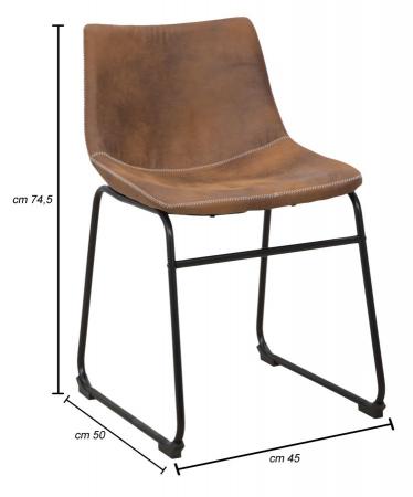 Scaun METROPOLITAN, 45X50X74.5 cm, Mauro Ferretti8