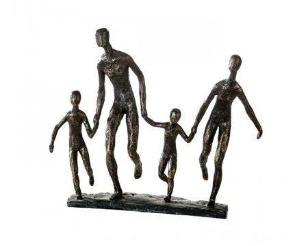 Figurina FAMILY, rasina, 35x10x32 cm [1]
