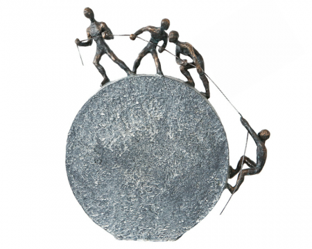 Figurina LIFTING, rasina, 35.5x31.5 cm0