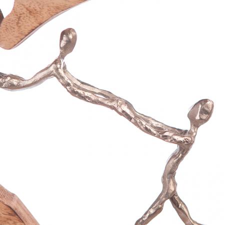 Figurina PARENTS LOVE, aluminiu, 37x5x32 cm [3]
