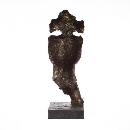 Figurina SILENCE, rasina, 13x13x39 cm4