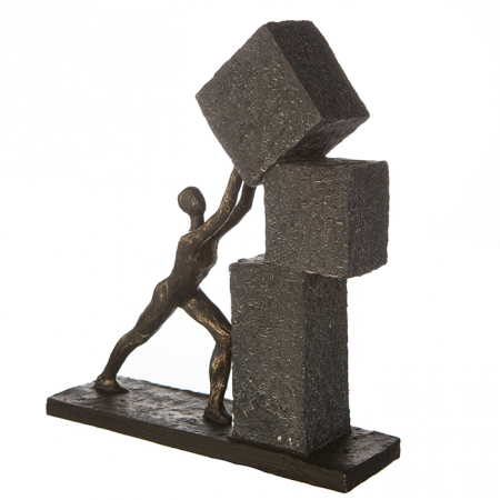 Figurina STACKING, rasina, 28x7x30.5 cm3