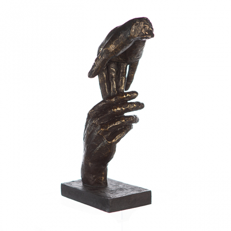 Figurina TWO HANDS, 29x8x13 cm2