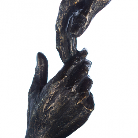 Figurina TWO HANDS, 29x8x13 cm3