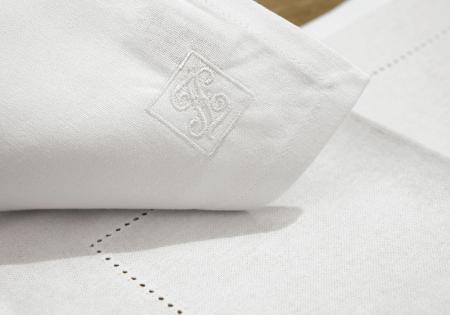 Servete de masa FONJA, bumbac, alb, 37x52 cm1