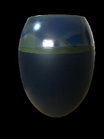 Set 1 Lampa cu 2 vaze HORY, ceramica, albastru, 35/23.5/30 cm2