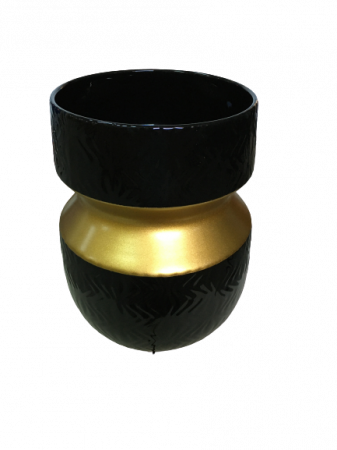 Set 1 Lampa cu 2 Vaze si 1 Bol DALLAS, ceramica, 26/37/26/14 cm1