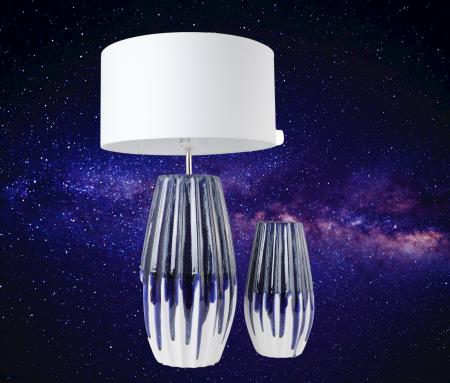 Set 1 Lampa cu Vaza MOONEYE, ceramica, 40/30 cm2