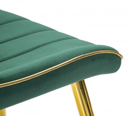 Set 2 fotolii PARIS verde/auriu (cm) 51X59X796