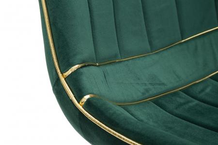 Set 2 fotolii PARIS verde/auriu (cm) 51X59X795