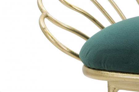 Set 2 scaune de bar GLAM FLOWER  (cm) 57X52X94-56X48X72,508