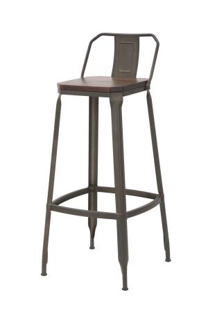 Set 2 scaune de bar HARLEM -B- (cm) 41X41X95 2