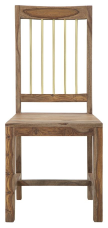 Set 2 scaune ELEGANT, lemn masiv sheesham, 45X50X100 cm, Mauro Ferretti1