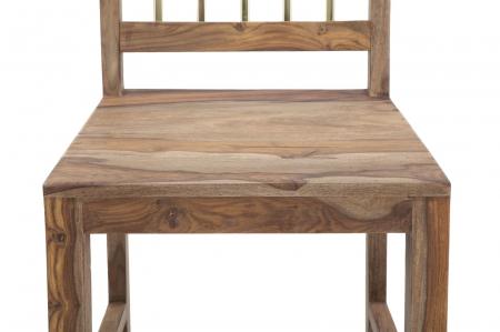 Set 2 scaune ELEGANT, lemn masiv sheesham, 45X50X100 cm, Mauro Ferretti4