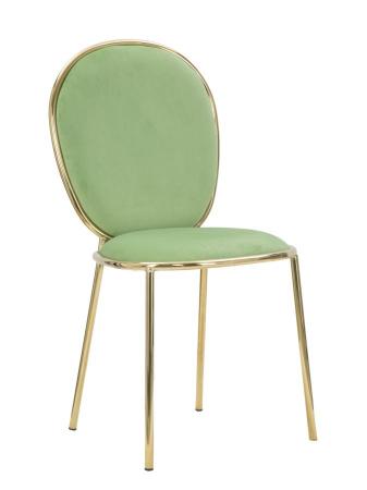 Set 2 scaune GLAM EMILY GREEN  (cm) 44X50X90 0