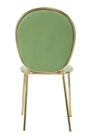 Set 2 scaune GLAM EMILY GREEN  (cm) 44X50X90 3
