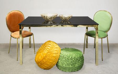 Set 2 scaune GLAM EMILY GREEN  (cm) 44X50X90 9