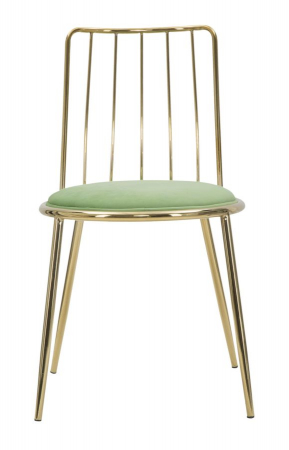 Set 2 scaune GLAM LODOVIC GREEN (cm) 45X50X80 2