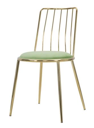 Set 2 scaune GLAM LODOVIC GREEN (cm) 45X50X80 3