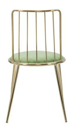 Set 2 scaune GLAM LODOVIC GREEN (cm) 45X50X80 1