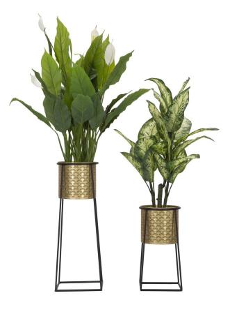 Set 2 suporturi pentru flori COUPLE (cm) Ø 26X70-23X451