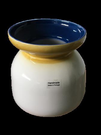 Set 3 vaze HERITAGE, ceramica, alb, 41/34/7.5 cm1
