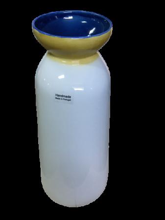 Set 3 vaze HERITAGE, ceramica, alb, 41/34/7.5 cm5