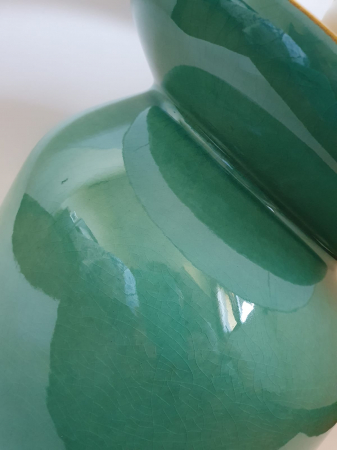 Set 3 vaze HERITAGE, ceramica, albastru, 41/34/7.5 cm1