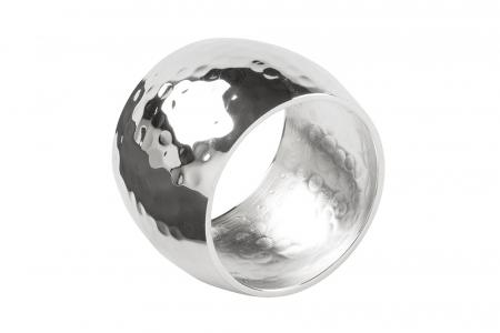 Set 4 inele servete de masa MATA, placate cu argint, 4.5 cm1