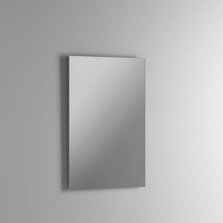 Set de baie cu 4 piese AGO, Melamina/Aluminiu/Abs/Sticla/Ceramica/Metal, Gri, 71x46.5x190 cm5