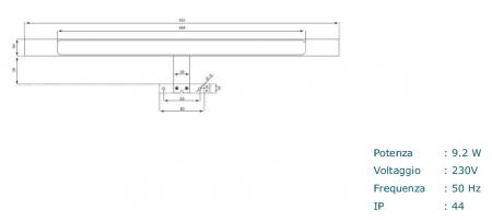 Set de baie cu 4 piese AGO , Melamina/Aluminiu/Abs/Sticla/Ceramica/Metal, Crem,  121x46.5x190 cm7
