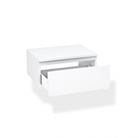 Set de baie cu 4 piese YOKA , Melamina/Aluminiu/Abs/Sticla/Ceramica/Metal, Gri,  120x45x190 cm1