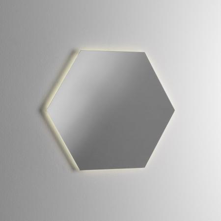 Set de baie cu 4 piese YOKA , Melamina/Aluminiu/Abs/Sticla/Ceramica/Metal, Gri,  120x45x190 cm5
